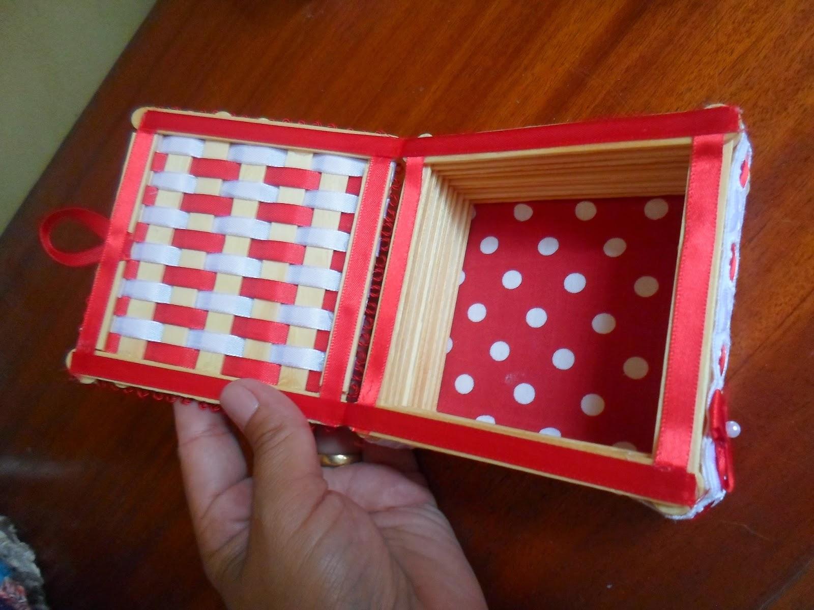 Cantinho Manushe: Porta Jóias de Palito de Picolé #B11A32 1600x1200