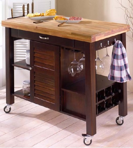 Moveable Kitchen Island Counter Make A Kitchen Island Work In Your Home