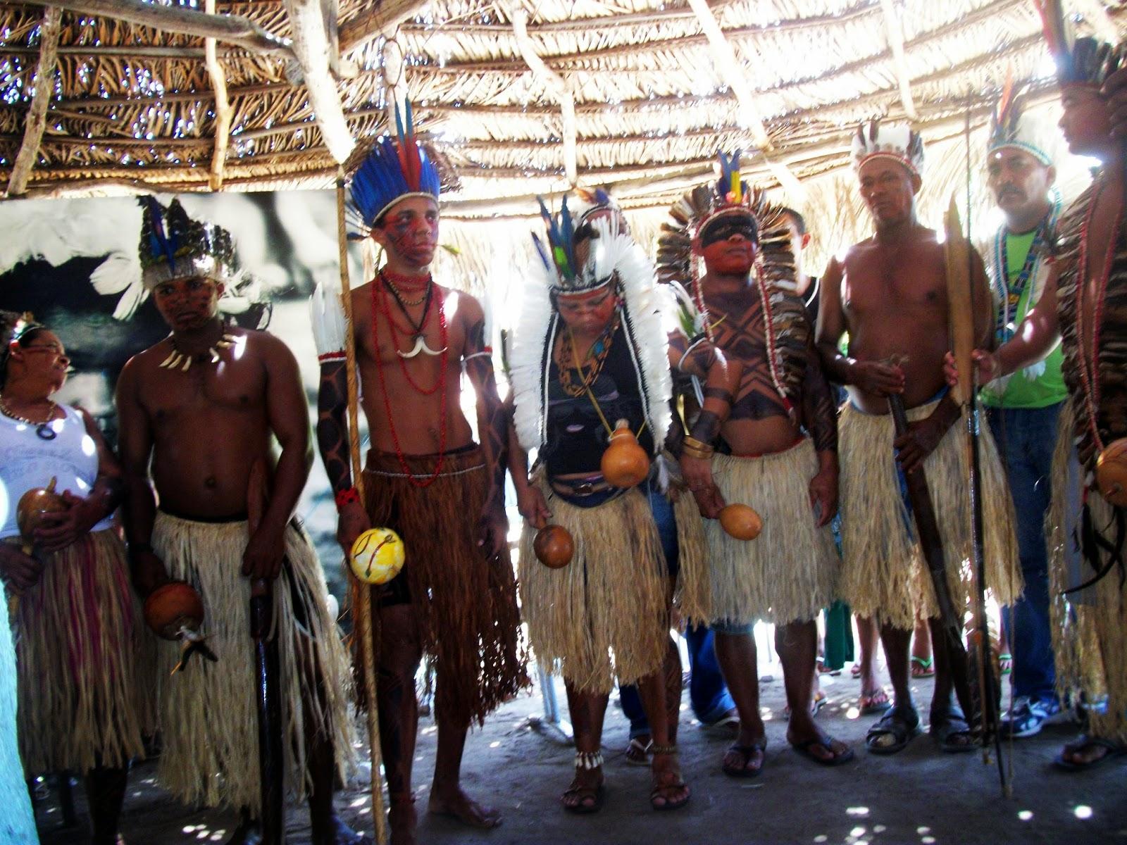 Apresentação dos índios Tabajaraas do litoral sul