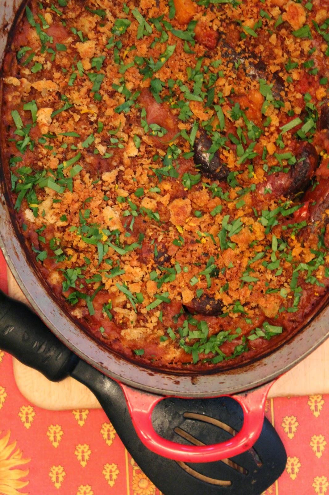 Spanish-Style Chorizo and Bean Cassoulet | Reestablishing the Food ...