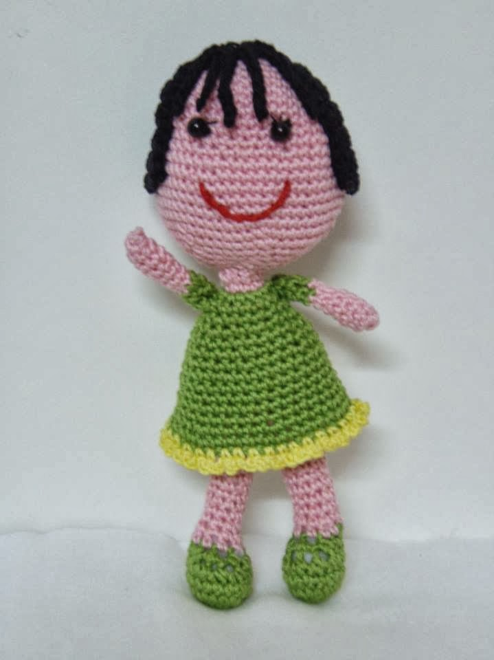 Amigurumi doll pattern ~ Free Crochet Patterns