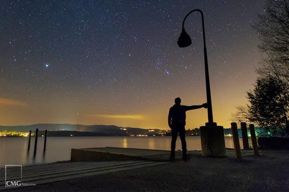 Lihat 4 Planet dalam Semalam di Februari 2014