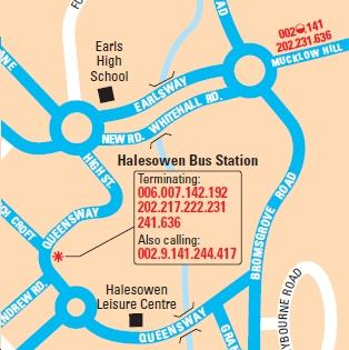 Public Transport Experience Near to Towyn via Halesowen 1