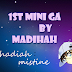 1st Mini GA by Madihah