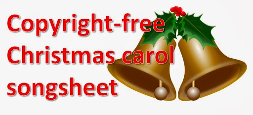 picture of christmas bell with holly christian christmas carols only - Christmas Songs Free