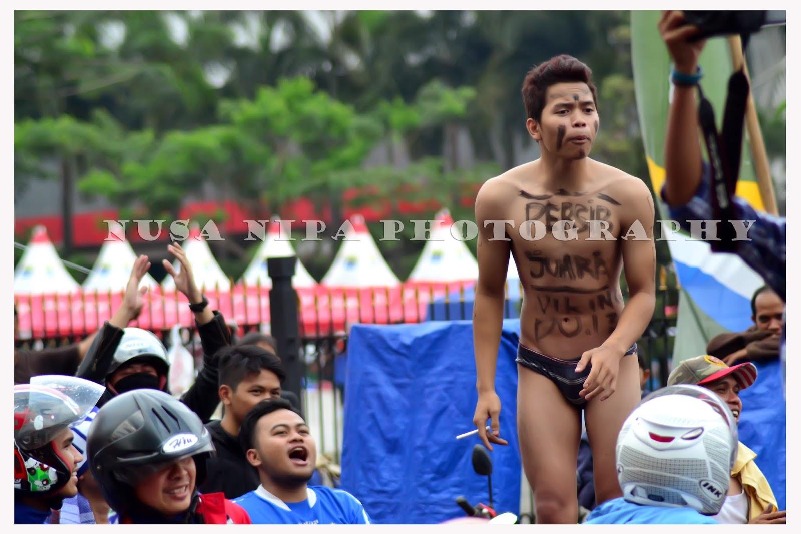 Aksi Lucu Bobotoh, Pesta Kemenangan Persib Bandung