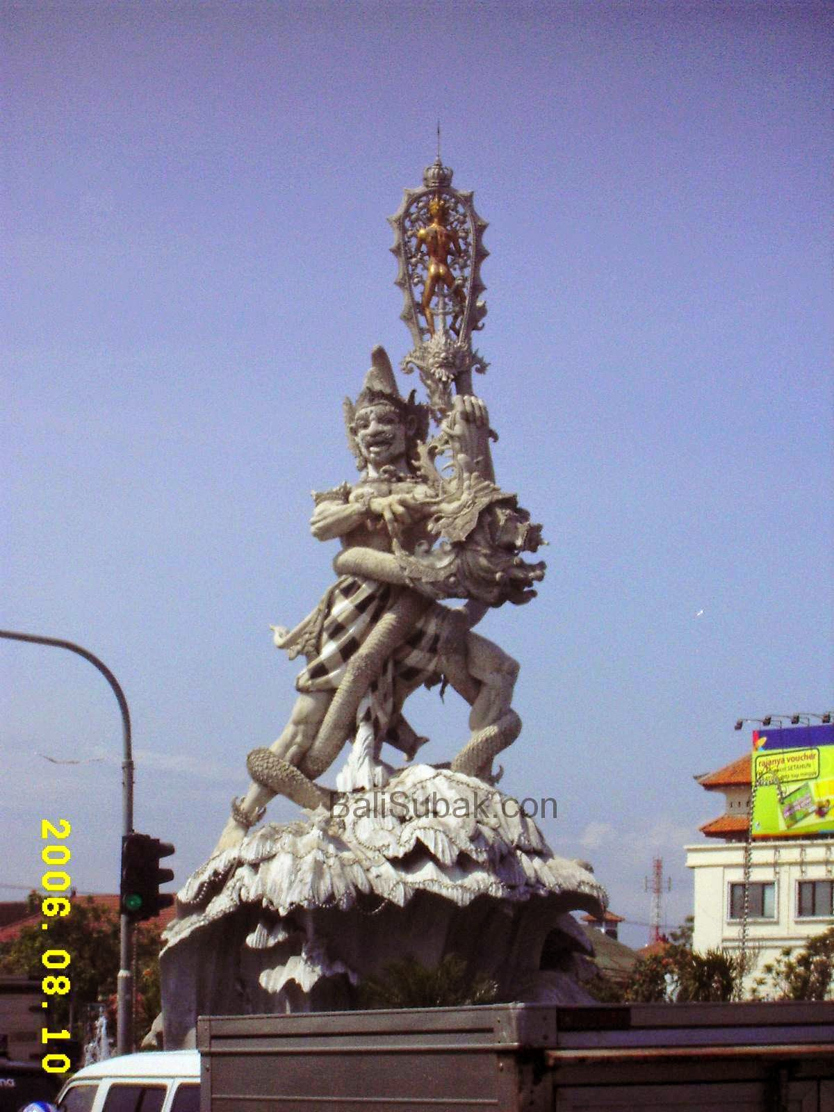 Statue of Dewa Ruci in 2006