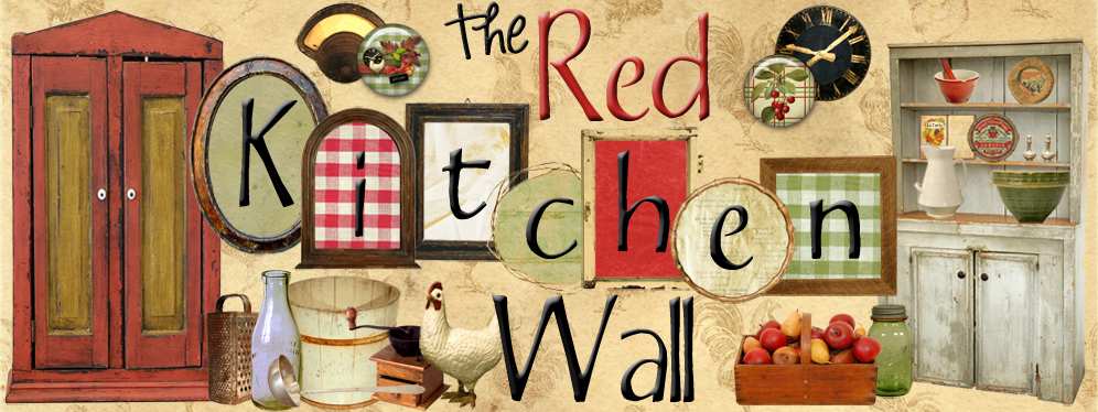 The Red Kitchen Wall