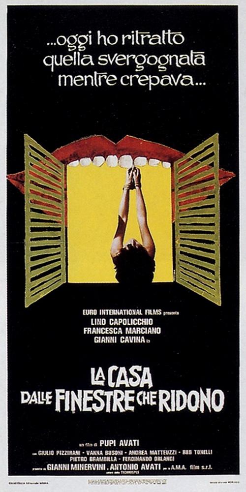 The last movieblog giallo krimi policier pt 1 - La casa dalle finestre che ridono ...