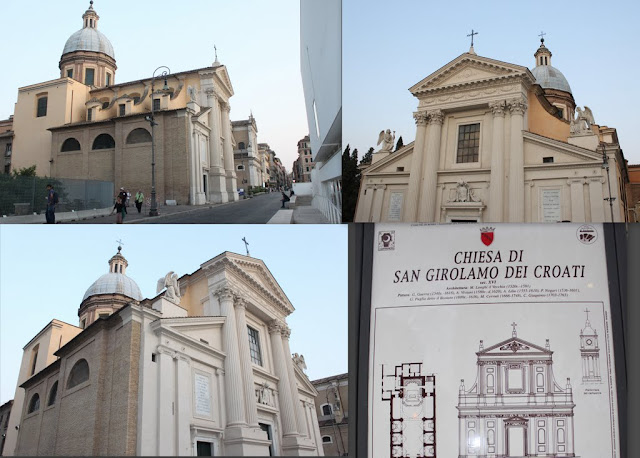 Chiesa di San Girolamo dei Croati, an Italian Church in Rome, Italy