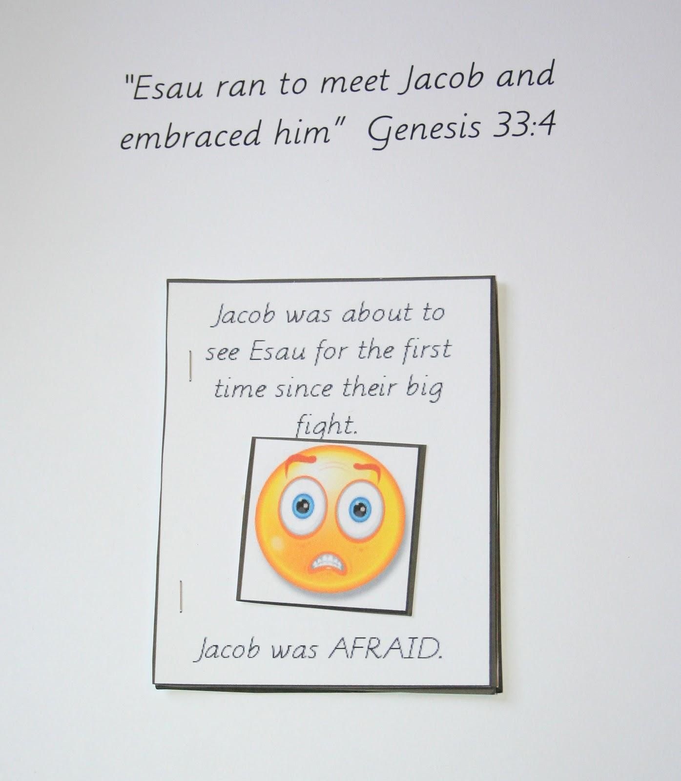 and esau meet