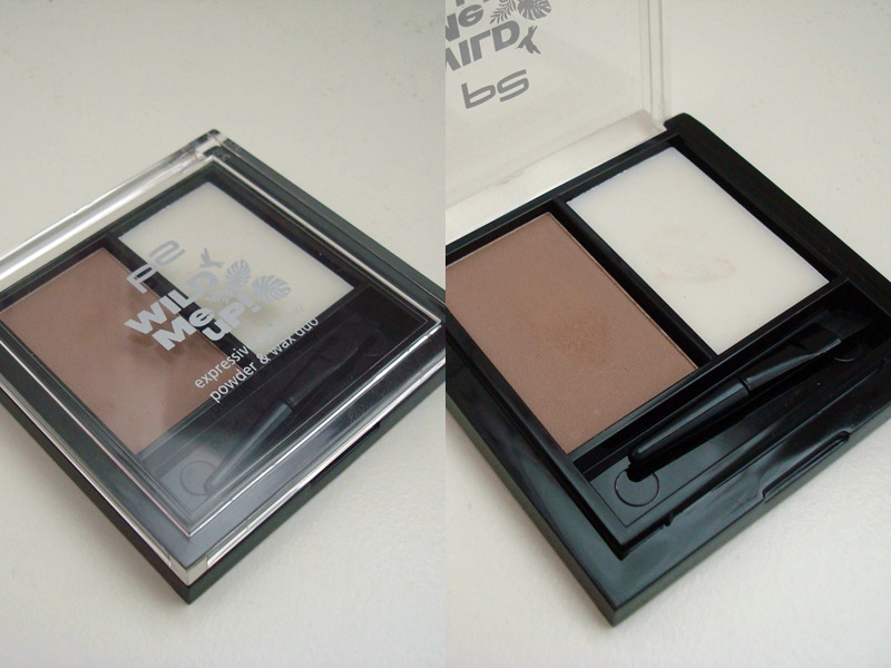 P2 - Wild Me Up! LE - expressive eyebrow powder & wax duo