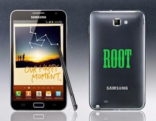 Cara root dan pasang CWM Galaxy Note 1 Jellybean