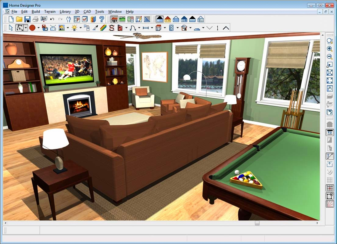 Home remodel design software home interior decorating for Interior decorating software free