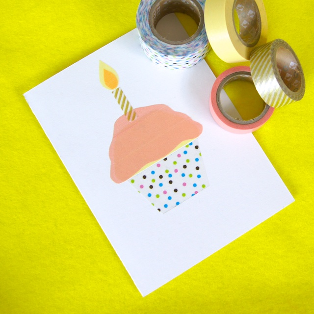 Use A Variety Of Colours Widths And Lengths To Give Your Birthday Candle Card Unique Look
