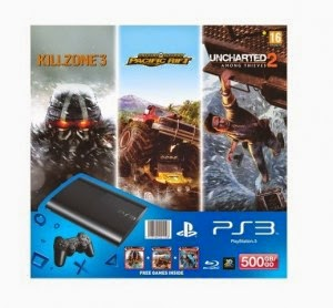 eBay: Buy Sony PlayStation 3 500GB SuperSlim Console at Rs. 20592