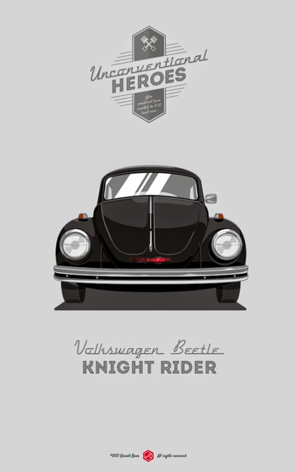 06-Knight-Rider-Gerald-Bear-Unconventional-Heroes-www-designstack-co