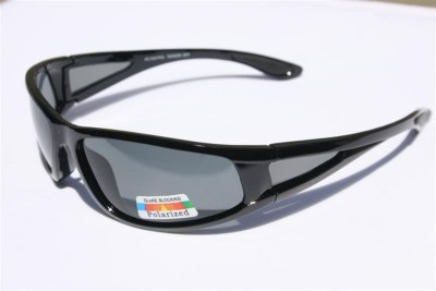 Black Logo Locs Mens 1 Piece lenses UV400 Sunglasses LC54 Matte Black