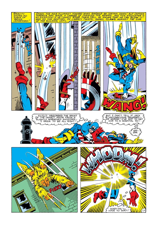 Captain America (1968) Issue #285 #201 - English 18