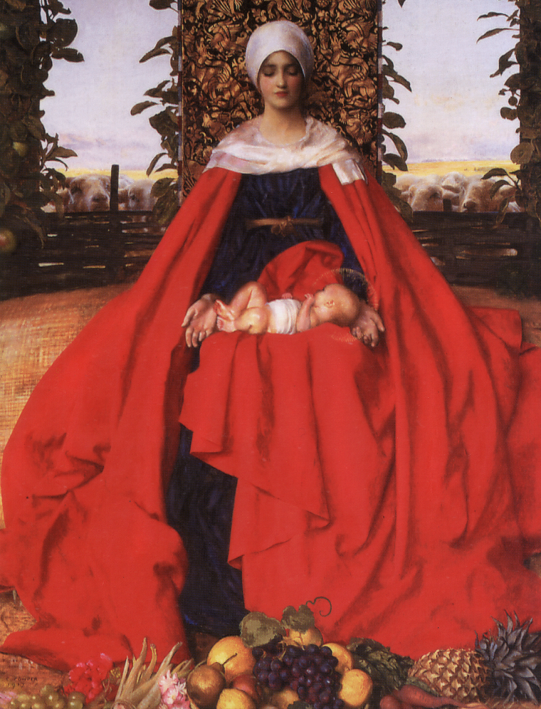 franck cadogan cowper lady of the fruits