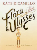bookcover of FLORA AND ULYSSES  by  Kate DiCamillo