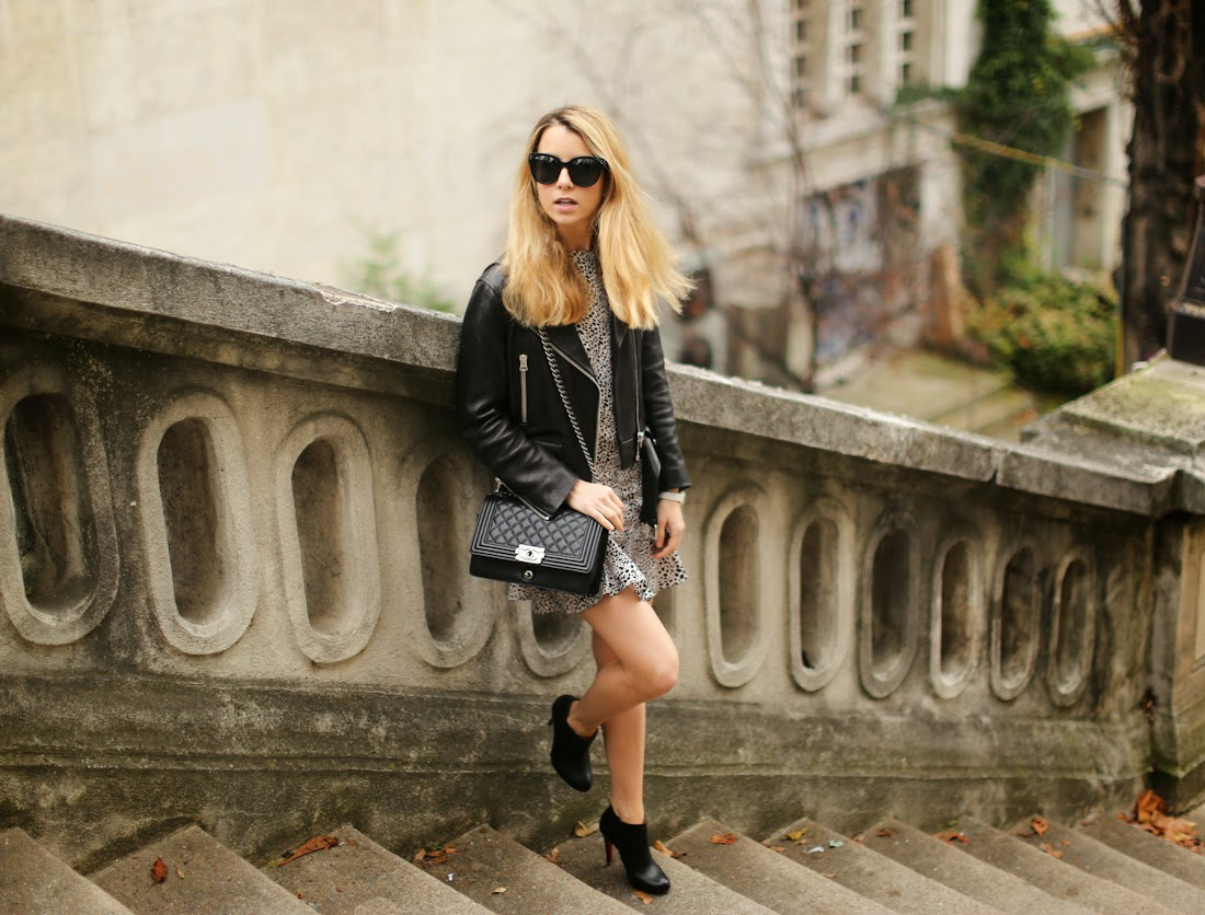 oasis fashion, leopard print, acne leather jacket, louboutin, chanel, fashion blogger, streetstyle, outfit