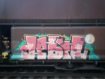 debil graffiti