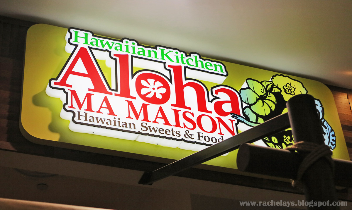 Rachelays bugis food trail aloha ma maison for Aloha ma maison singapore