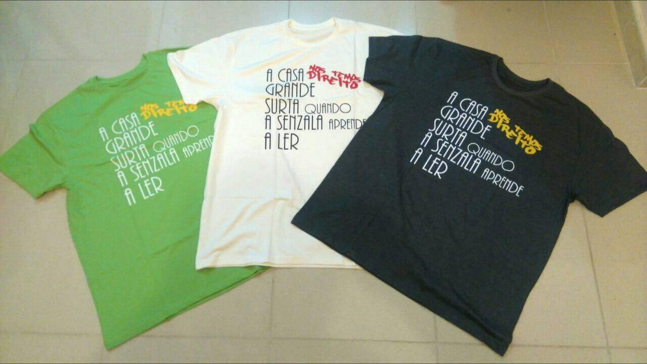 Camisas Inverso do Contraditório