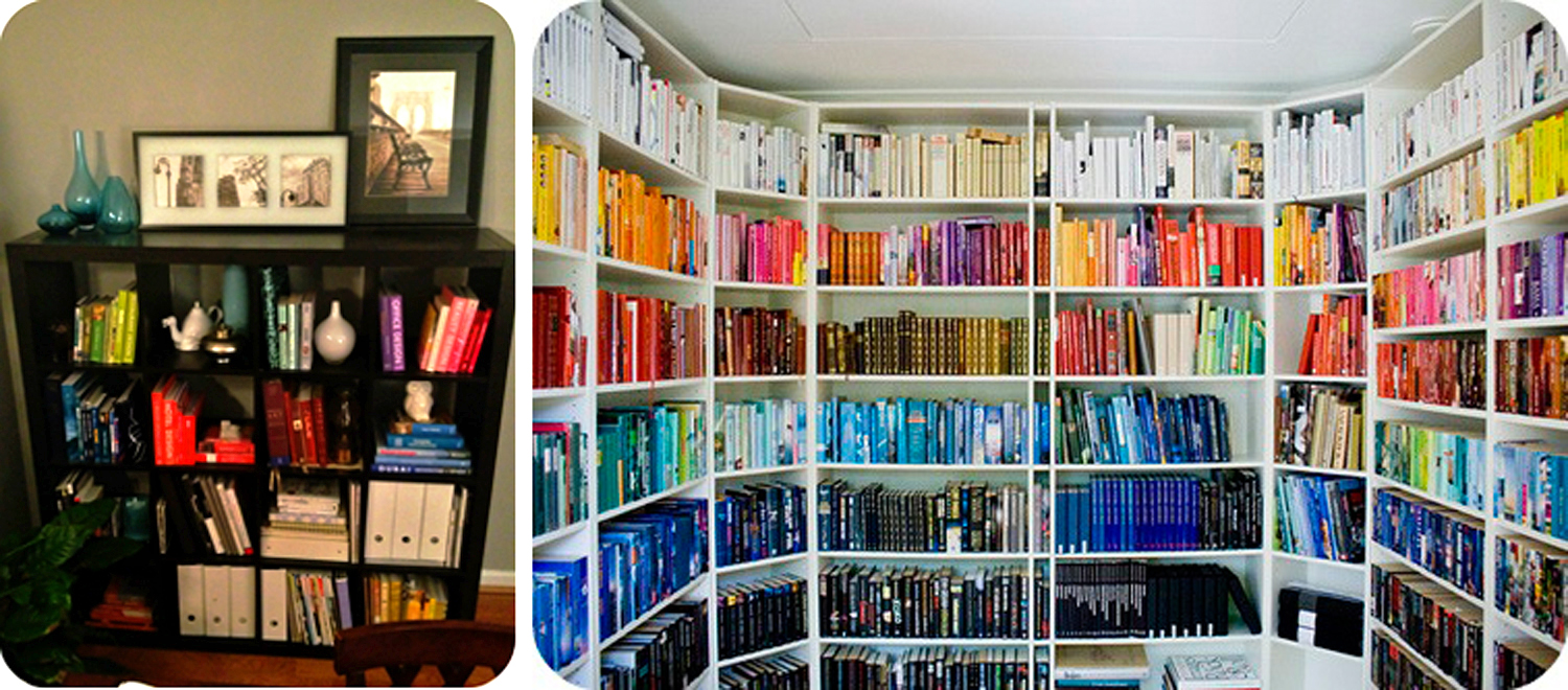 Haute Obsession Arranging Bookshelves