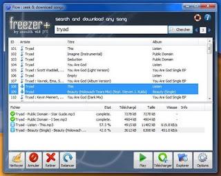Deezer Freezer - Téléchargement sur Deezer