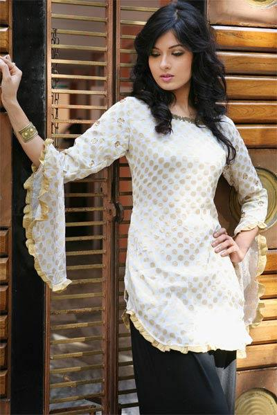 dilber stylish kurta with jeans for girls