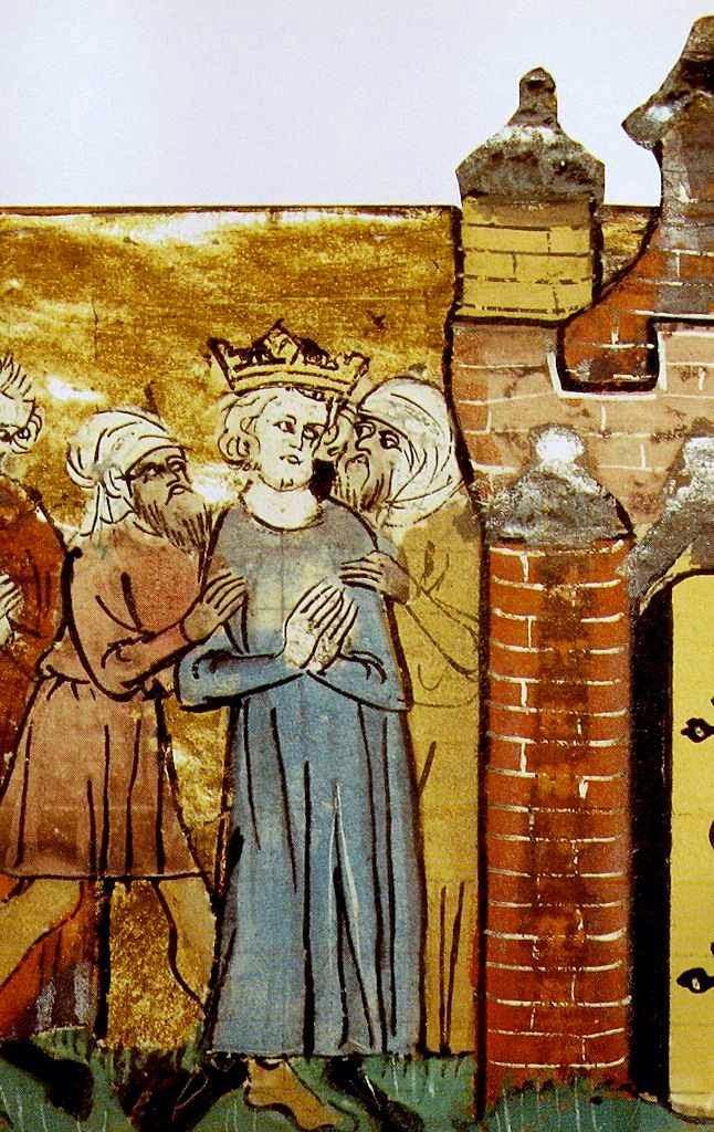 São Luís prisioneiro no Egito