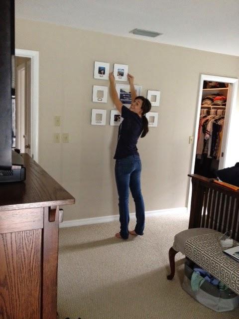 Placing Frames On the Wall
