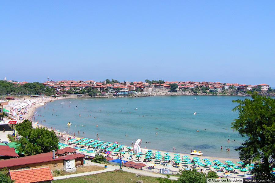 Пляж в Старом Созополе | Beach in the Old Town of Sozopol