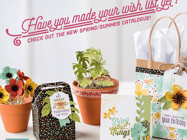 Homemade from the Heart Spring/Summer 2016 Catalogue and SALE-A-BRATION Launch!