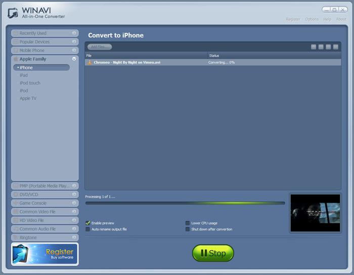 winavi all in one converter 1.7 serial key download