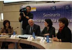 """36. Seminario """"Presencia española en el exterior"""" CEA de la Universidad de Santiago de Compostela"""
