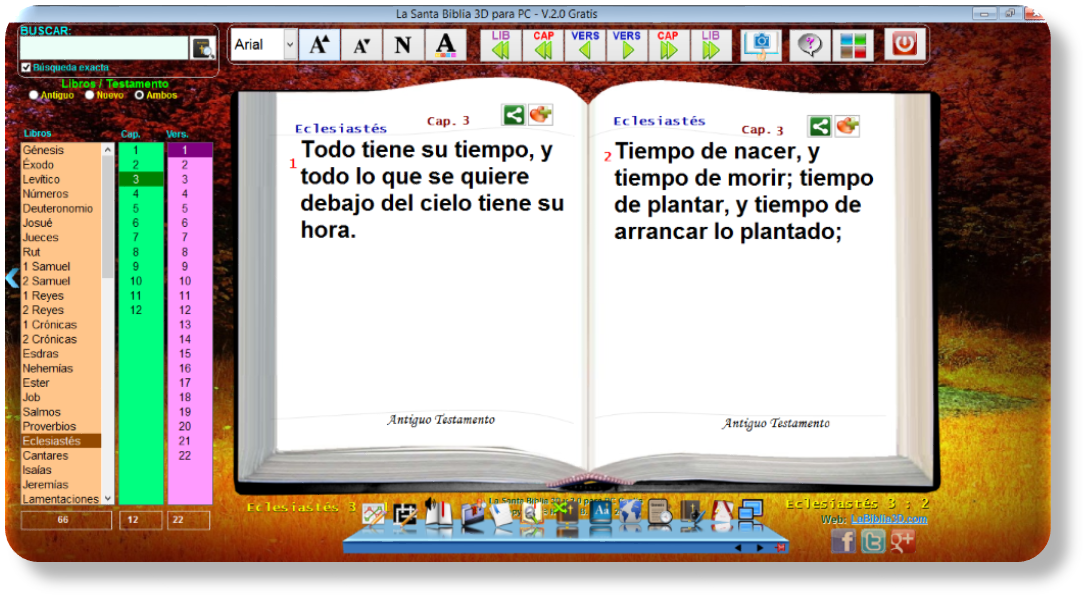 La Santa Biblia 3D para PC v 1.2. Ya está disponible para bajar la ...