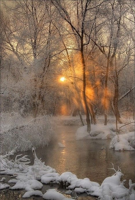 zimowe slonce