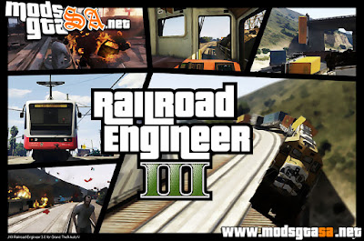 V - Mod Railroad Engineer V3.0 para GTA V PC