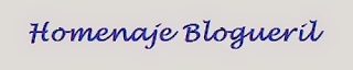 homenaje blogueril