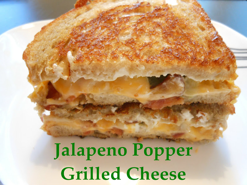 Flavors by Four: Jalapeno Popper Grilled Cheese