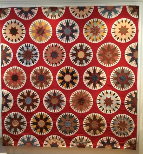 Mariner's Compass, een supermooie quilt