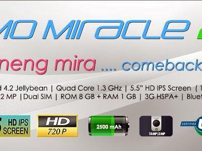 IMO Miracle 2 Lebih Slim dan Menarik