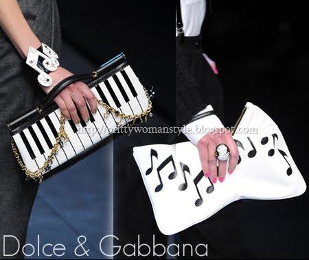 чанти клъч с музикален дизайн