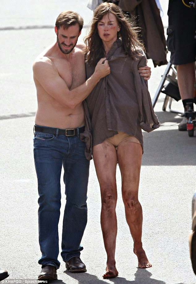 Kmhouseindia: Nicole Kidman is stripped to her underwear
