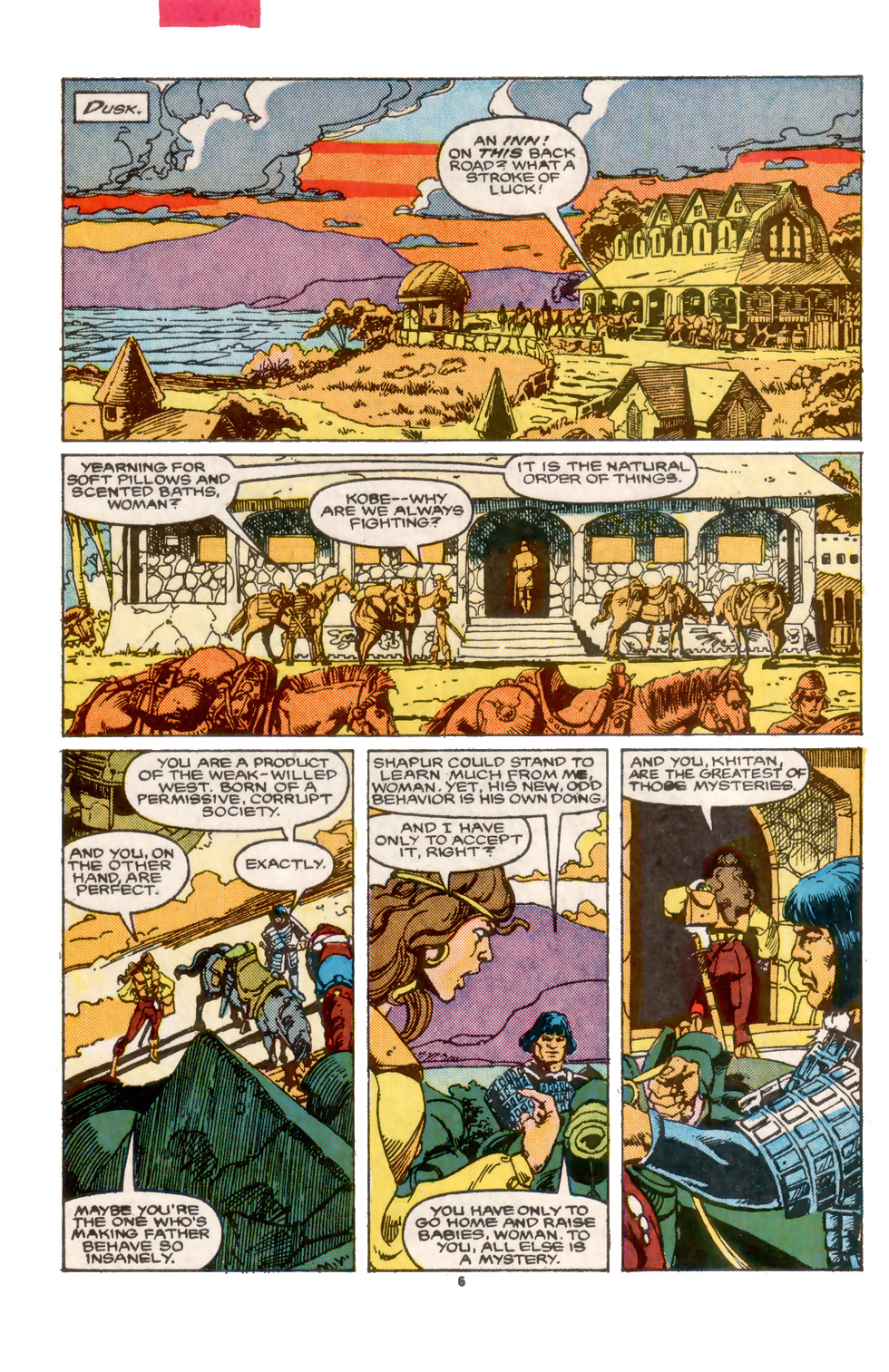 Conan the Barbarian (1970) Issue #202 #214 - English 7