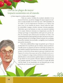 Apoyo Primaria Español Lecturas 6to Grado Estoy enamorado de las moscas de la fruta; son fascinantes: Ramón Aluja