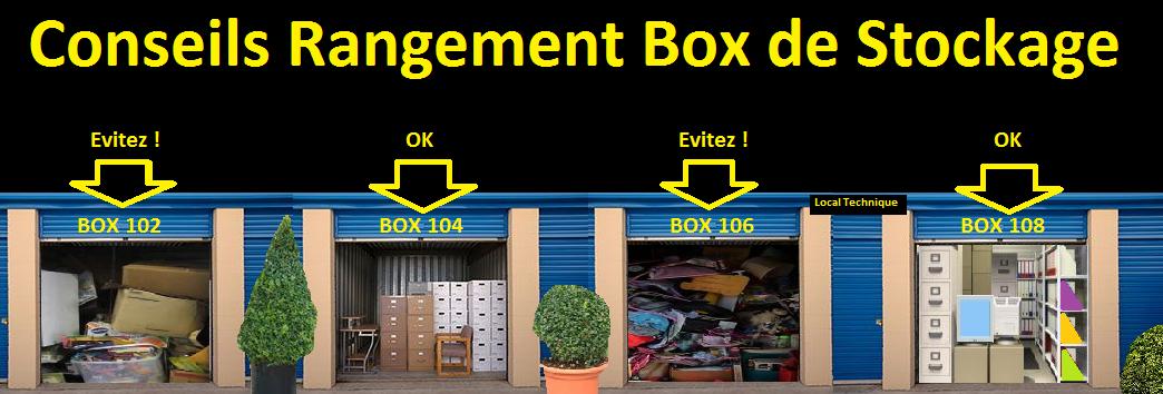 Conseils rangement box de stockage - Location de box pour stocker des meubles ...